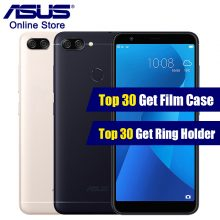 Asus Zenfone Max Plus(M1) X018DC ZB570TL 5.7 inch 18:9Full Sreen Smartphone Octa Core 3 Cameras Android 7.0 4130mAh Mobile Phone