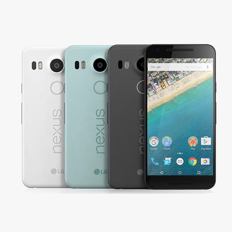 "Original LG Google Nexus 5X H791 H790 4g lte android 6.0 cellphone 5.2""inch 12MP 16/32GB ROM 2GB RAM Fingerprint LTE Cellphone"