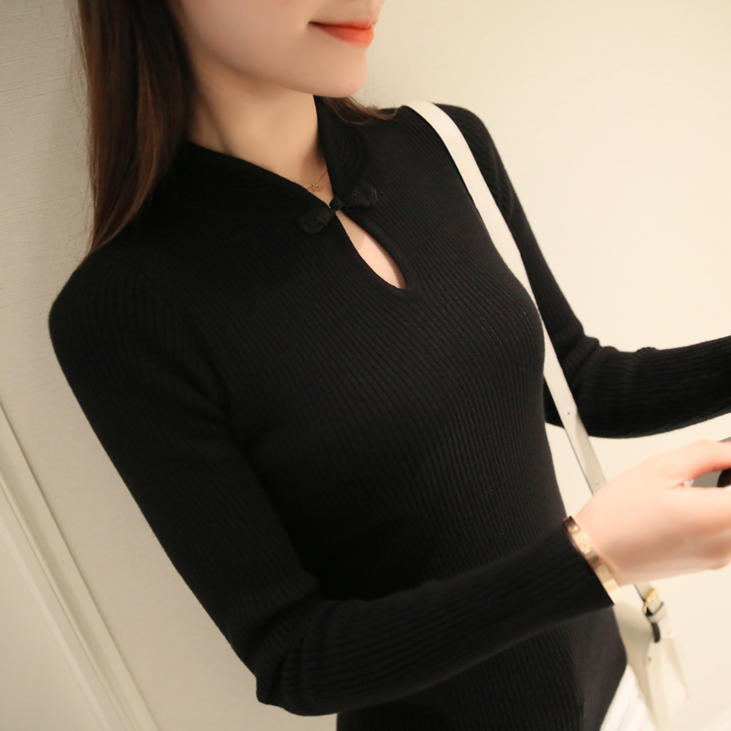 Winter New Fashion Thickened half turtleneck sweater
