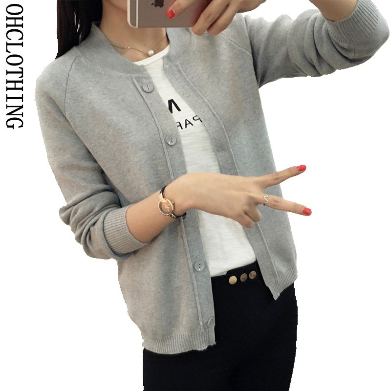 Wool Sweater V neck Can not buckle cardigan Fashion wild Female Small shawl Jacket burderry women