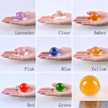 40mm(2.3 inch) Clear Crystal Magic Ball Asian Natural Quartz Clear Crystal Healing Quoted Ball Sphere 40mm