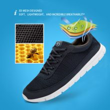 Breathable Lace-Up Walking Shoes (3 colors)