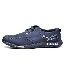 Canvas Denim Lace-Up Casual Shoes (2 colors)