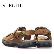 The Big Yards High Quality Leather Sandals (3 colors)