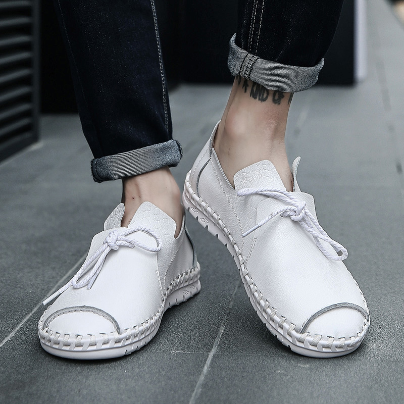 Elegant Hand Sewing Comfortable Office Casual Shoes (5 colors)