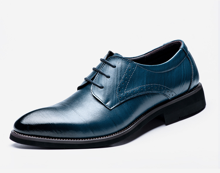 Wingtip Carved Italian Formal Shoes (6 colors)