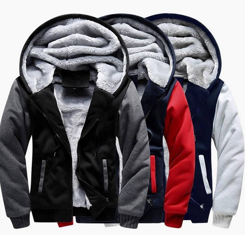 US size Men Hoodies Anime ONE PIECE Portgas D Ace Monkey D Luffy Cosplay Zipper Jacket Thicken Hoodie Coat Clothing Casual