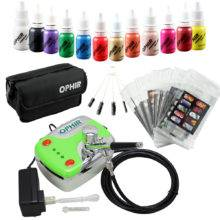 Airbrush Kit with Air Compressor for Nail Art