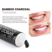 Tooth Care Bamboo Natural Activated Charcoal Teeth Whitening Toothpaste Oral Hygiene