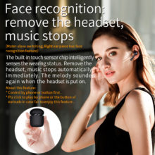Wireless Bluetooth 5.0 Earphone Stereo Sports Earbuds Headset with charging box built-in microphone