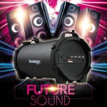 Wireless Bluetooth Speaker, Outdoor Portable Subwoofer, Music Stereo Powerful Sports Speakers