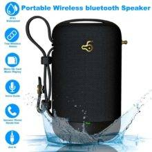 HiFi Bluetooth 5.0 Portable IPX5 Waterproof Speakers, 20W Powerful Sound Music Box,Wireless Music Player, Mp3 Player For Home